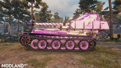 Anime Skin New Game (G.W.Panther) Tier 7 0.1 [1.0.1.1], 4 photo